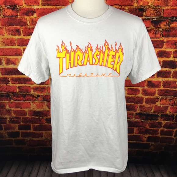 35ba60f66f1f Thrasher Shirts | Magazine Skateboarding Tshirt | Poshmark